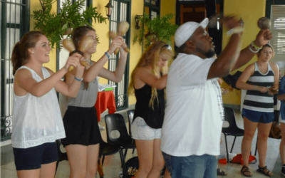 Percussion Workshops in Cuba