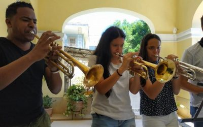 Music students in Cuba